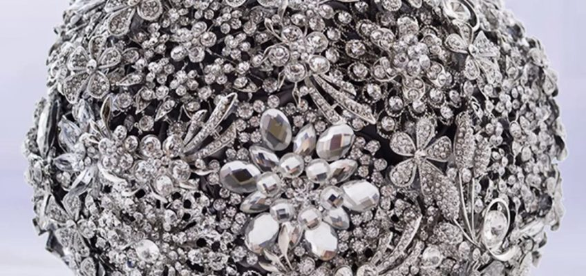 Why Bling Is The New Black- Custom Brooch Bouquets By Wendy Wortham…